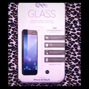 CASE- MATE GLASS SCREEN PROTECTOR